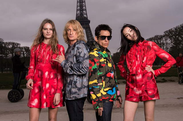 Zoolander and Hansel in new Valentino photoshoot with Xiao Wen Ju and Tilda Lindstam (фото 1)