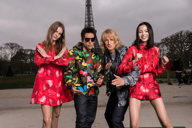 Zoolander and Hansel in new Valentino photoshoot with Xiao Wen Ju and Tilda Lindstam (фото 2)