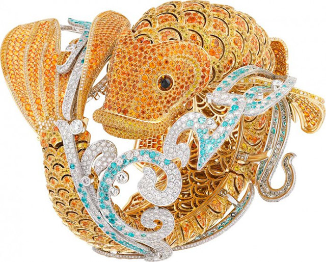 Van Cleef and Arpels debut Koi fish-inspired timepiece