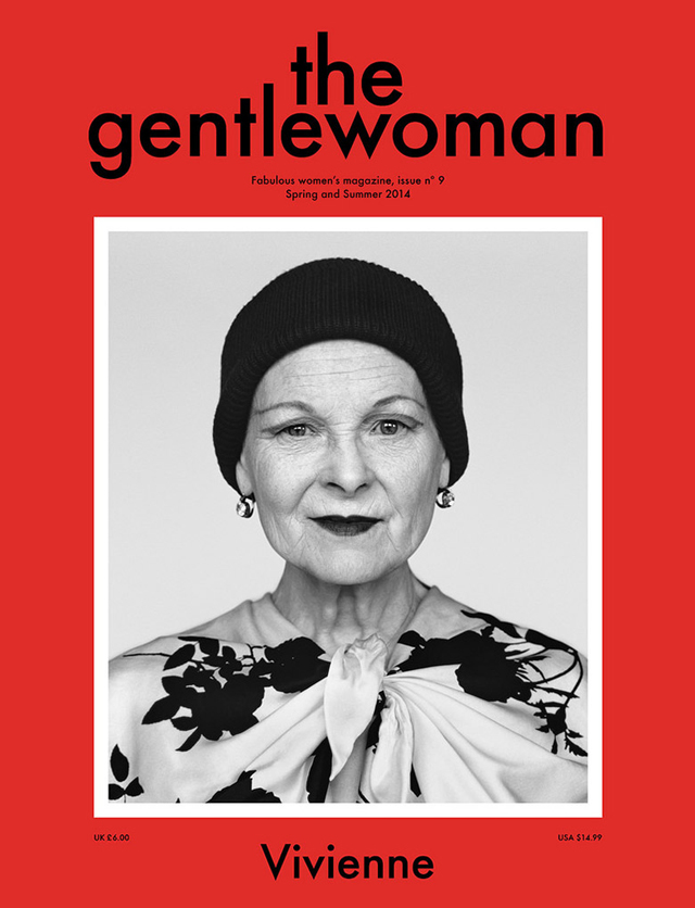 Vivienne Westwood covers The Gentlewoman Magazine