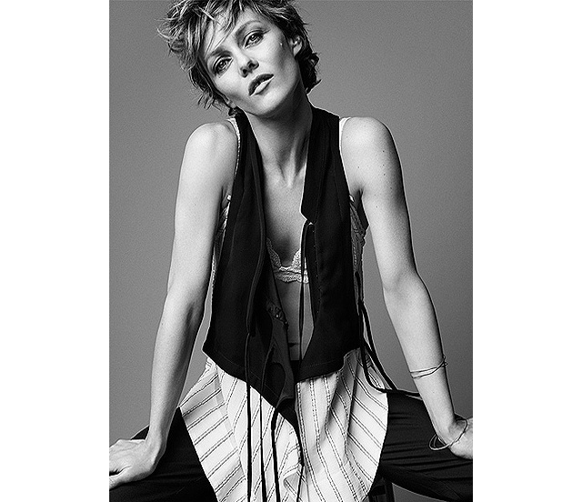 Vanessa Paradis shines in Net-a-Porter's The Edit (фото 4)