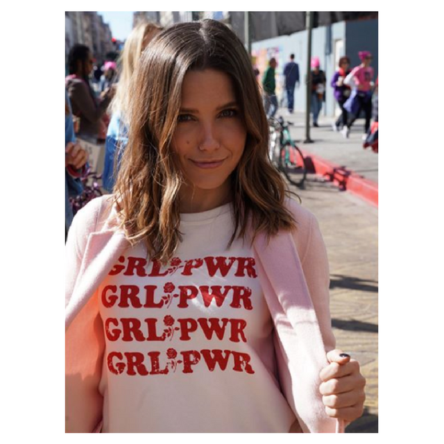 Sophia Bush Women's March 2018