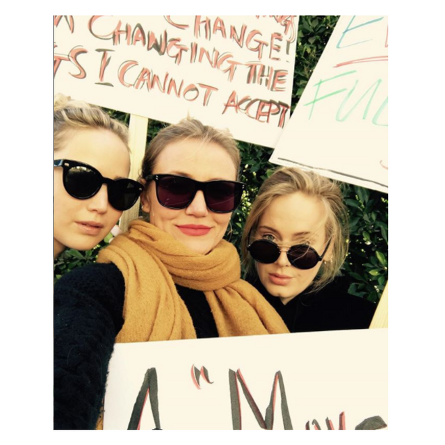 Adele Women's March 2018
