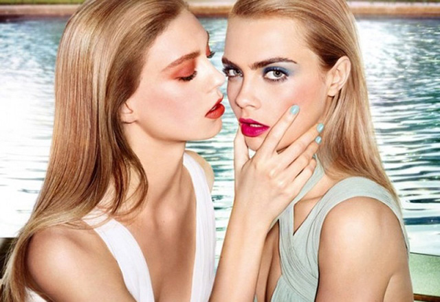 Cara Delevingne for YSL Beauty Campaign