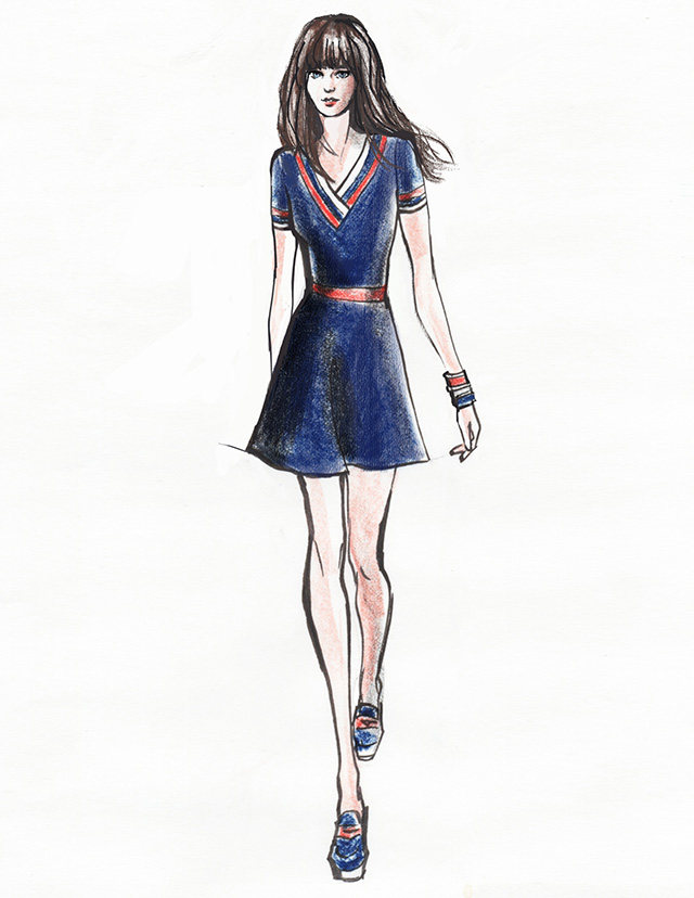 Zooey D tommy hilfiger