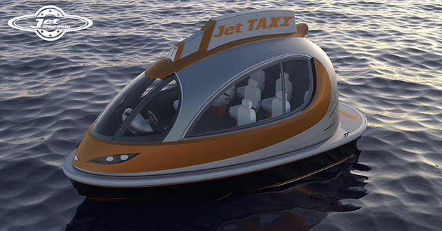 Jet Capsule proposes new versions of its water boat | Buro 24/7