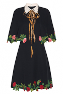 Gucci Embroidered Cape Dress, Dhs17,300