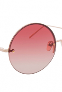 Linda Farrow Rose Gold Round Sunglasses, Dhs2,755