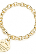 Tiffany & Co. Return to Tiffany medium heart bracelet, price available upon request