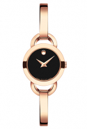 Movado Rose Gold Rondiro timepiece, price available upon request