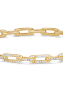 David Yurman Stax Chain Link Bracelet with Diamonds at Bloomingdale's, Dhs16,245