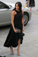 Day 15: Meghan wears Antonio Berardi dress