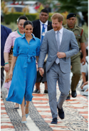 Day 11: Meghan wears Veronica Beard dress
