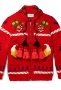 Gucci Embroidered Wool Cardigan, Dhs13,360