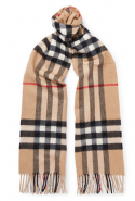 Burberry Checked Cashmere Scarf, Dhs1,526