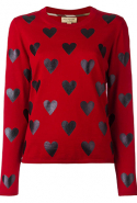 Burberry heart print jumper at Farfetch, Dhs1,520