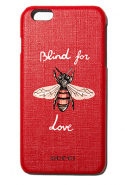 Gucci's Red Blind for Love iPhone 6 Plus Case at Ounass.com, Dhs750