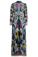 Mary Katrantzou dress available at The Modist, Dhs7,310