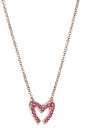 Mouawad Ruby Love M necklace, price available upon request
