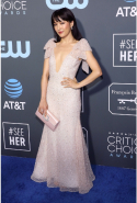 Constance Wu dressed in Rodarte