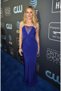 Kristen Bell dressed in Cushnie