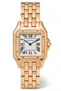 Cartier Panthère timepiece available on Netaporter.com, Dhs100,170