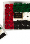 Floral arrangement by Maison Des Fleurs, price upon request