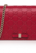 Gucci's Signature Embossed Shoulder Bag, Dhs3,300