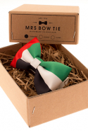 Mrs Bow UAE Flag Bow Tie, AED139