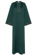 Antonio Berardi embroidered kaftan available on Bysymphony.com, Dhs6,115