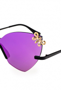 Glassing Magenta Double Butterfly sunglasses, Dhs1,299