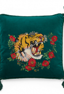 Gucci pillow case, price available upon request