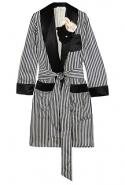 Lanvin satin jacket available on Netaporter.com, Dhs4,760