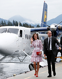 The British Royals Canadian tour