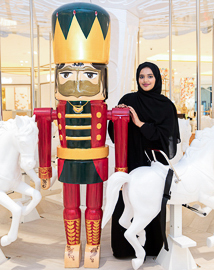 "Tryano Nutcracker competition finalist: ""I designed a female Emirati character because Emirati women are strong"""