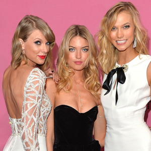 Karlie Kloss, Taylor Swift, Adriana Lima and more at the Victoria's Secret show in London