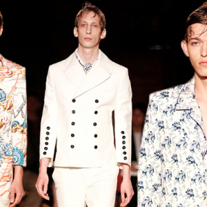 The London Collections Men: Alexander McQueen SS16
