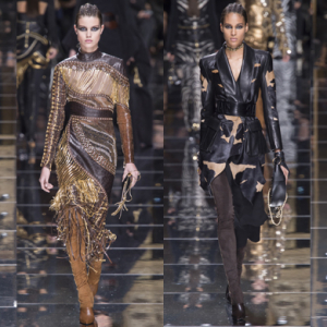 Paris Fashion Week: Balmain Fall/Winter '17