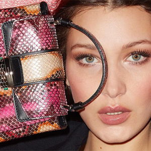 Bella Hadid stars in Bulgari's new Serpenti campaign