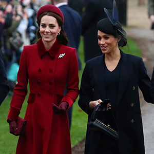 Meghan Markle attends her first Christmas Day Service as Duchess of Sussex