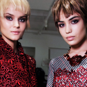 Buro 24/7 Middle East Exclusive: Oscar de la Renta backstage AW14