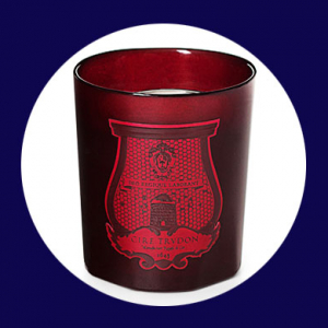 The Cire Trudon x Valentino Christmas candle