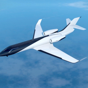 The Ixion Private Jet which offers flyers a panoramic view