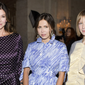 Natalia Vodianova hosts dinner for Gaia Repossi in Moscow