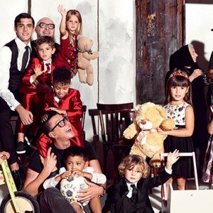First look: Dolce & Gabbana's new childrenswear campaign
