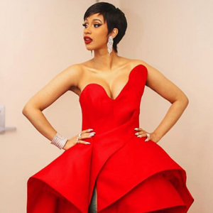 Cardi B wears Azzi & Osta to the MTV VMAs