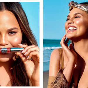 Chrissy Teigen and Becca Cosmetics team up for second beauty collection