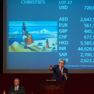 Christie's Dubai sets 19 new auction records at last night's art auction