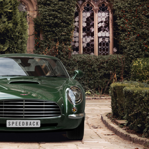 David Brown's Speedback sports car revealed