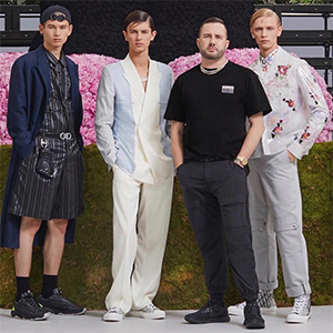 Kim Jones will be honoured with this inaugural accolade at the 2018 Fashion Awards